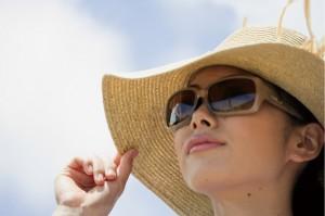 日焼け防止イメージ